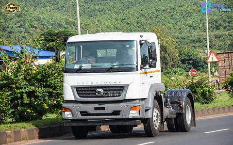 Bharat Benz 4023TT Truck