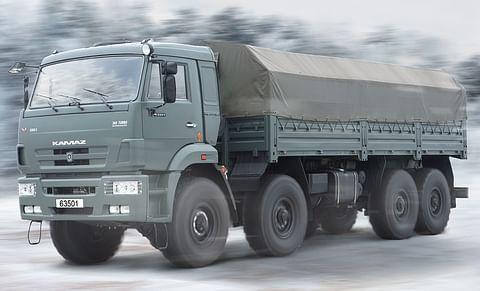 Kamaz 63501 8X8 Truck