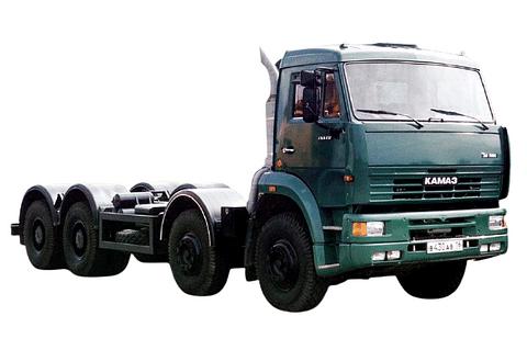 Kamaz 65201 8X4 Truck
