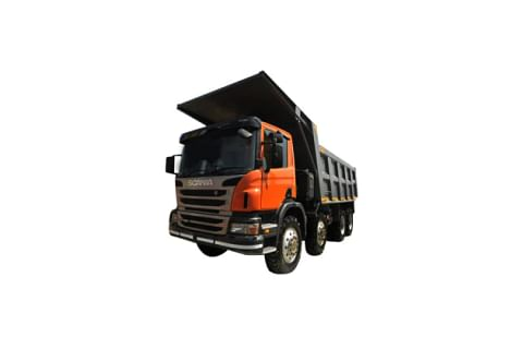 Scania P410 8X4 Truck