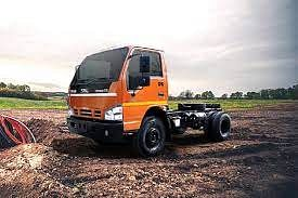 Swaraj  Mazda Samrat GS Tipper Chassis Truck