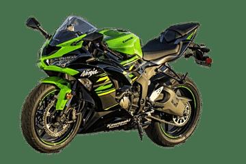 Kawasaki Ninja ZX 6R bike
