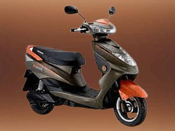 Okinawa Ridge scooter