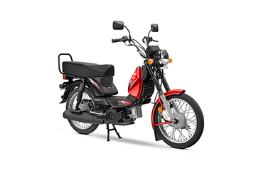 TVS XL 100 scooter