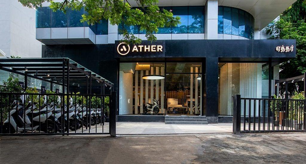 ather energy showroom ather grid bengaluru