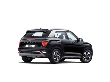 Hyundai Creta Rear Side Profile