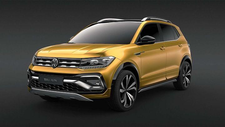 VW Taigun Front Side Profile - VW Taigun vs Kia Seltos