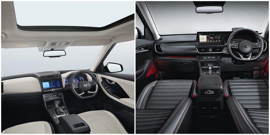 2020 Hyundai Creta Base EX vs Kia Seltos HTE Petrol