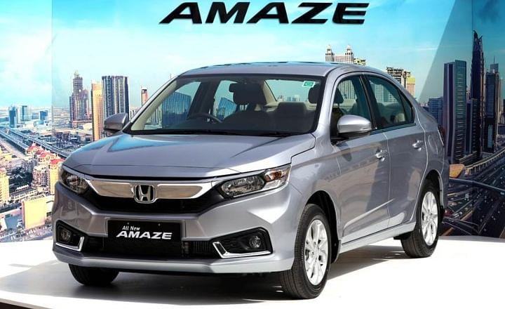 honda amaze bs6 price