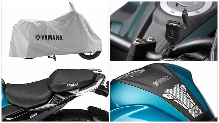 yamaha fz25 fzs 25 accessories price