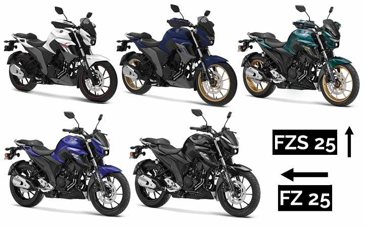 Yamaha FZ 25 vs FZS 25