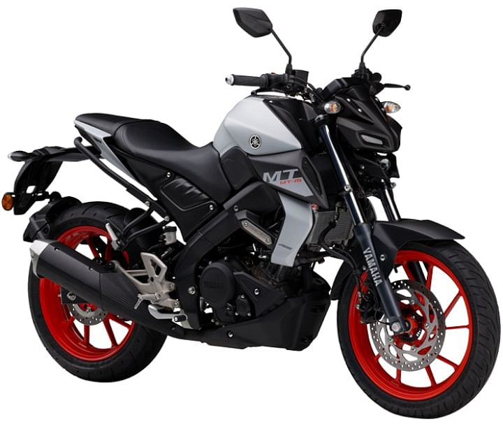 yamaha mt 15 white colour price in india