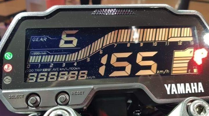 Yamaha MT 15 BS6 Instrument Cluster