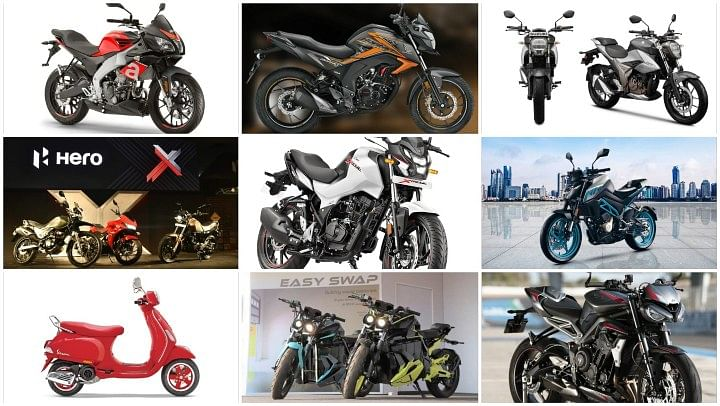 upcoming bikes and scooters