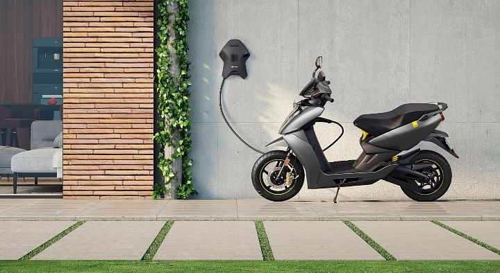 rent ather 450 electric scooter