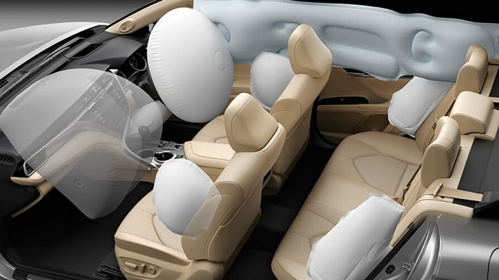 toyota camry hybrid safety features