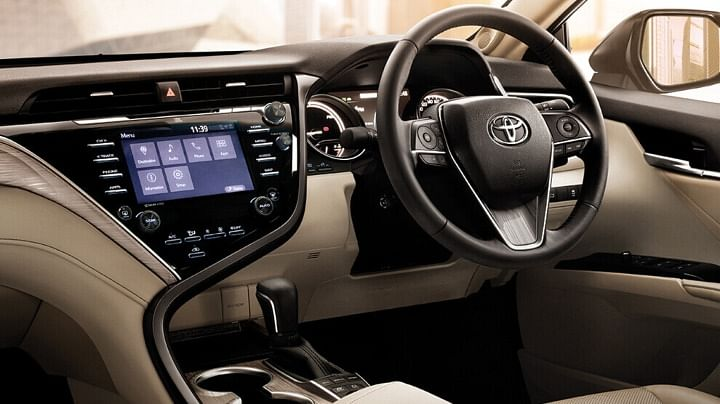 toyota camry dashboard official images