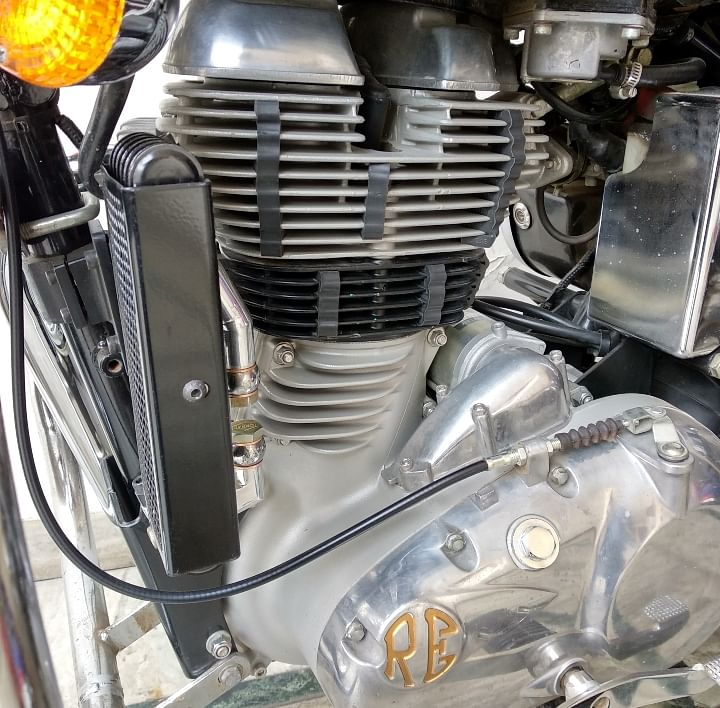 oil cooler for classic 500