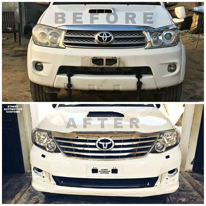 Toyota Fortuner Modified Image