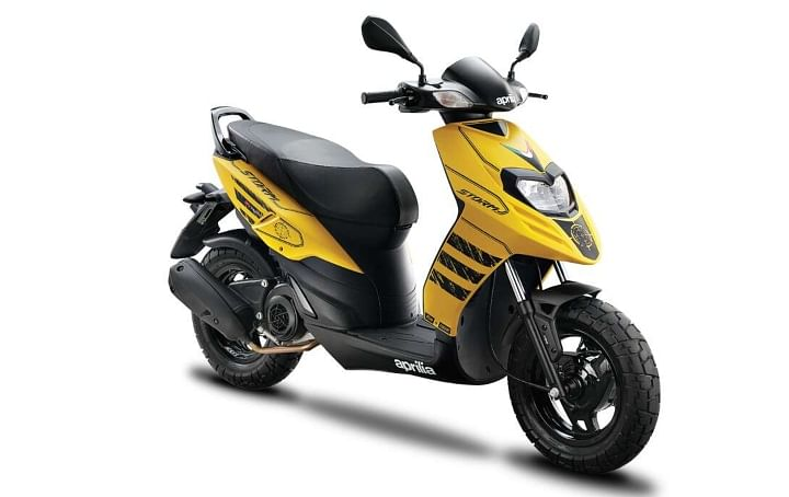aprilia storm 125 bs6 price in india