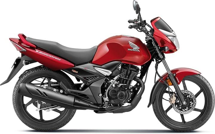 2020 honda unicorn 160 bs6 red colour