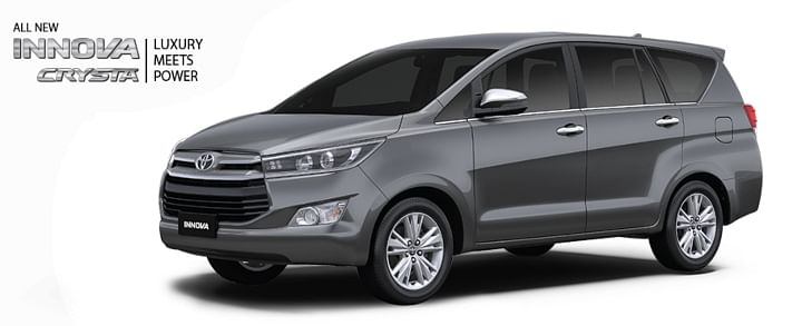 toyota innova crysta bs6 price in india toyota cars price in india