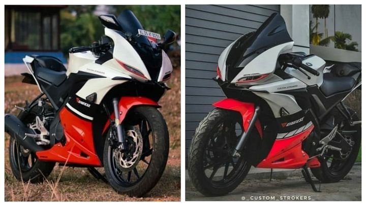 best modified yamaha R15 V3 in india
