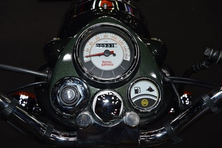 royal enfield classic 350 instrument cluster