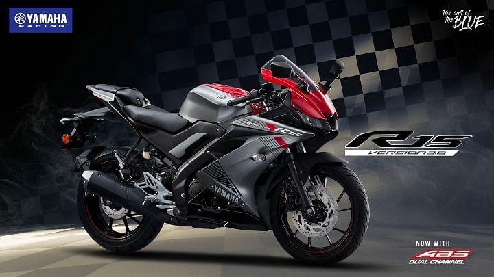 new Yamaha R15 V3