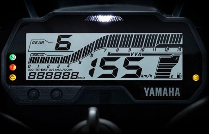 Yamaha R15 V3 Instrument Cluster