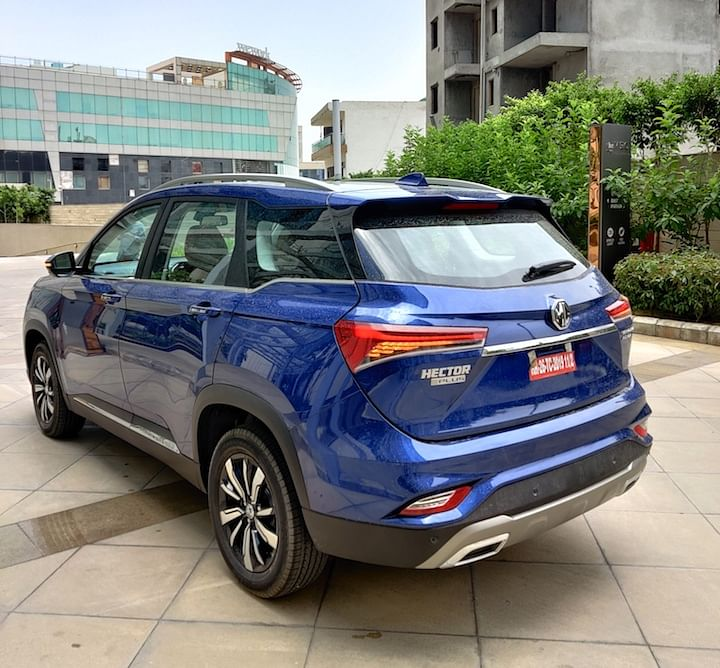 MG Hector Petrol CVT vs DCT Price