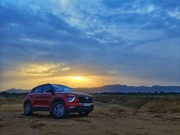 Hyundai Creta Front Side Profile - Volkswagen Taigun vs Hyundai Creta