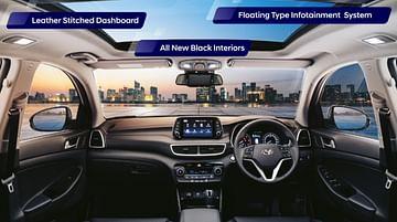Hyundai Tucson Interiors - Hyundai India SUVs