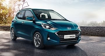 Hyundai Grand i10 Nios AMT Front Side Profile