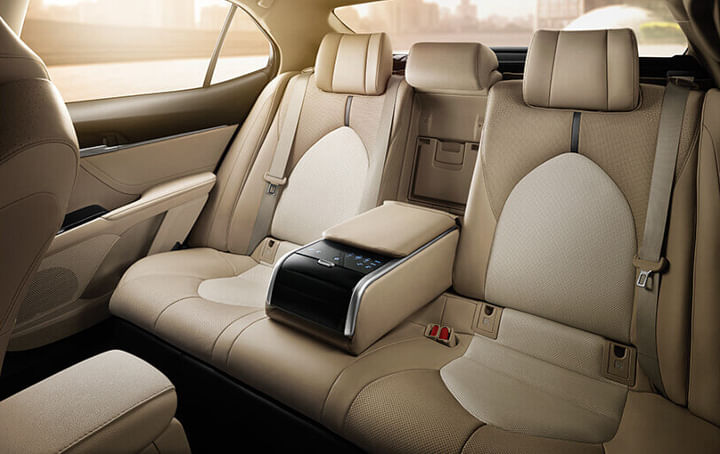 Toyota Camry Review rear seat