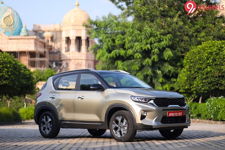 Kia Sonet iMT First Look Review Image