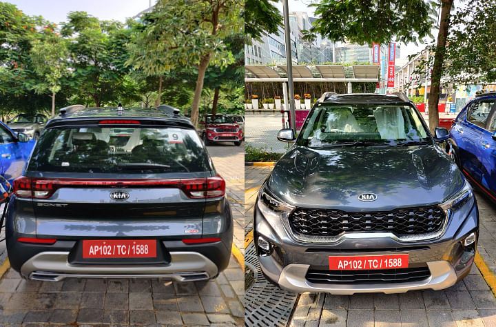 2020 Kia Sonet vs Hyundai Venue BS6 base models