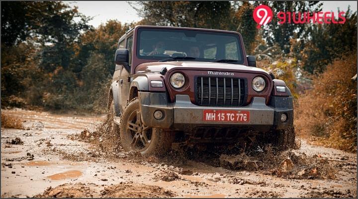Mahindra Thar Test Drive