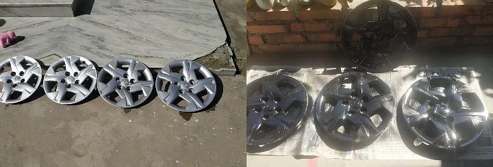 Hyundai Venue Wheel Caps Into Alloys Image