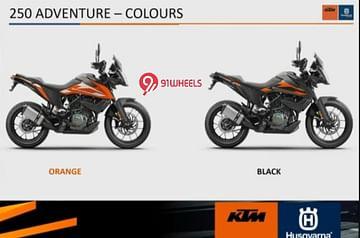 KTM 250 Adventure Colours