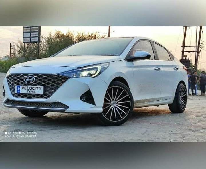 Hyundai Verna Alloy Wheels
