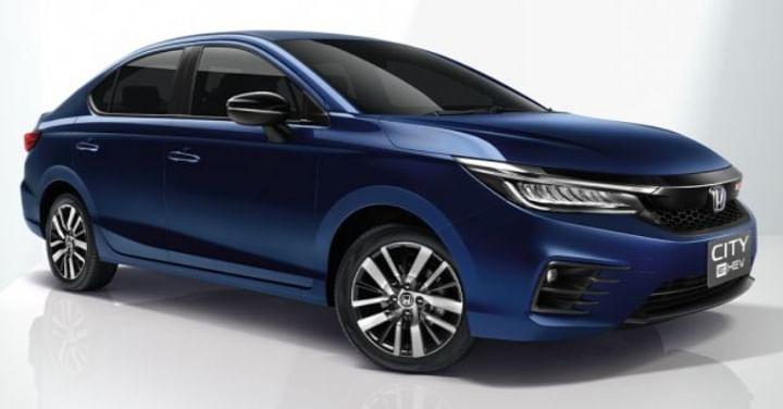 India bound Honda City Hybrid
