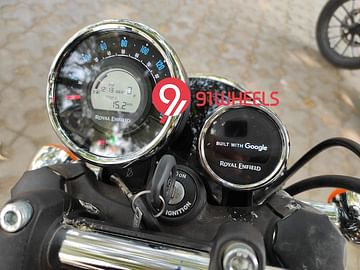 Royal Enfield Meteor 350 Instrument Console