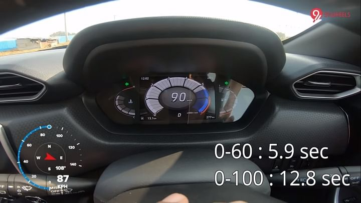 Nissan Magnite 0-100 Performance