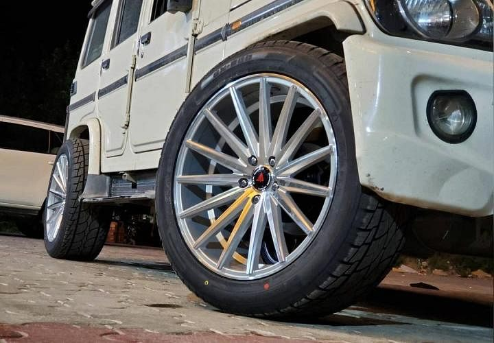 Mahindra Bolero Alloy Wheels