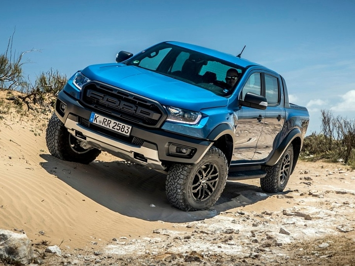 2021 Ford Ranger Raptor BS6 First Look Review