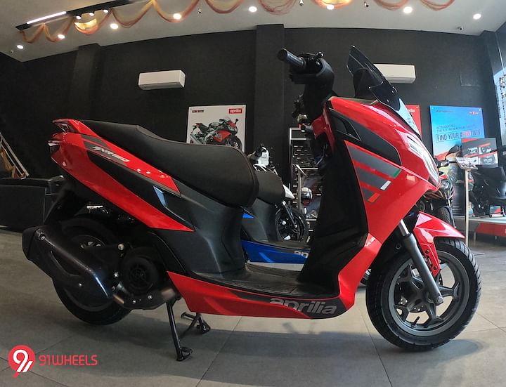 2021 Aprilia SXR 160 BS6 Review in Hindi