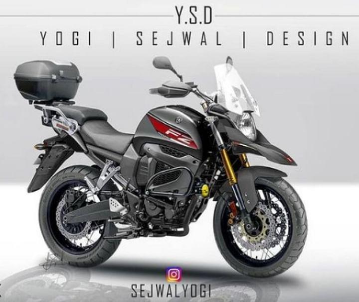 Yamaha FZ-X Spied