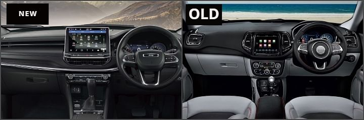 2021 Jeep Compass New vs Old Image