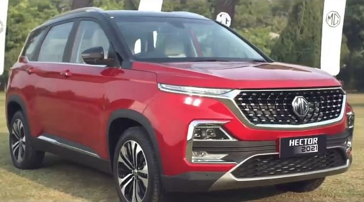 2021 MG Hector Facelift BS6 Launched - Check Out The New vs Old Price List; All Changes Explained